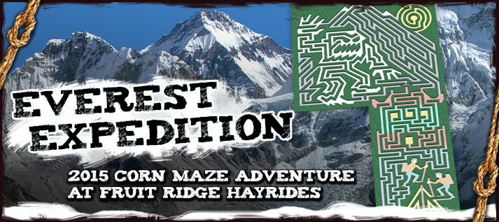 Corn Maze 2015: Everest Expedition