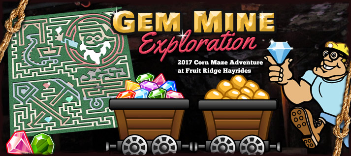 Corn Maze 2017: Gem Mine Exploration