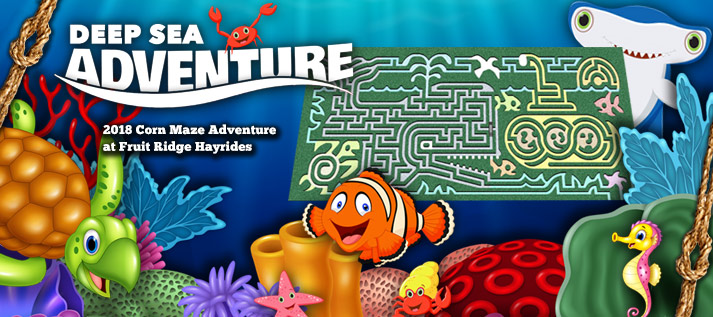 Corn Maze 2018: Deep Sea Adventure